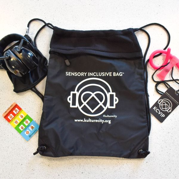 Sensory bag at the Civic Center Music Hall
