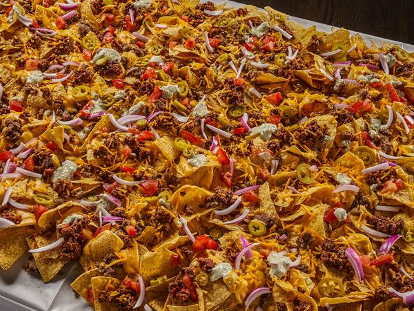 Made in Oklahoma nacho table