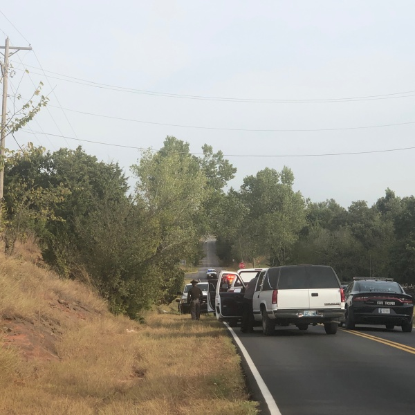 Body found in Logan County. Credit: KFOR