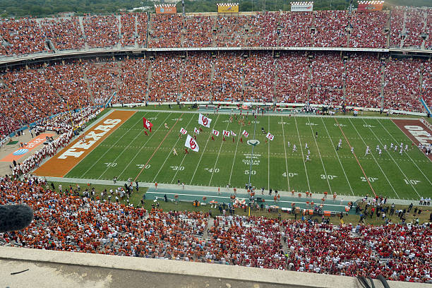 DALLAS, TX - OCTOBER 12: A general view of the Cotton Bowl crowd during the Red River Shootout between the Oklahoma Sooners and the Texas Longhorns on October 12, 2013 at The Cotton Bowl in Dallas, Texas. (Photo by Jackson Laizure/Getty Images)