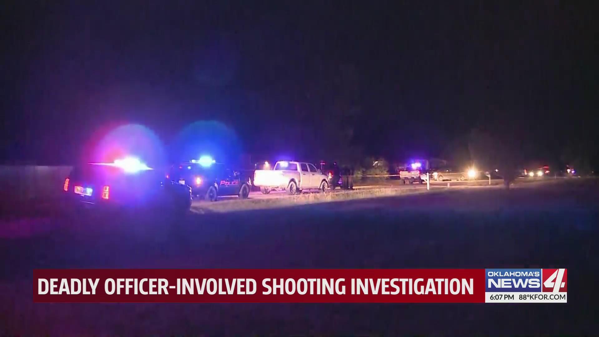 Scene of officer-involved shooting in Davis