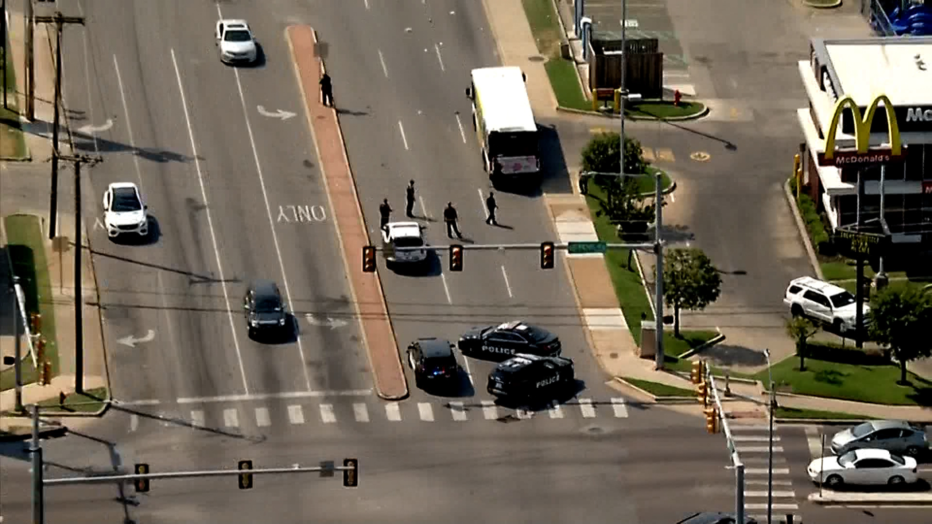 Fatal auto-pedestrian accident at nw 23rd and penn