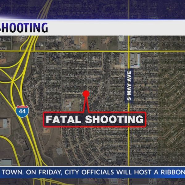 Deadly drive-by shooting in SW OKC
