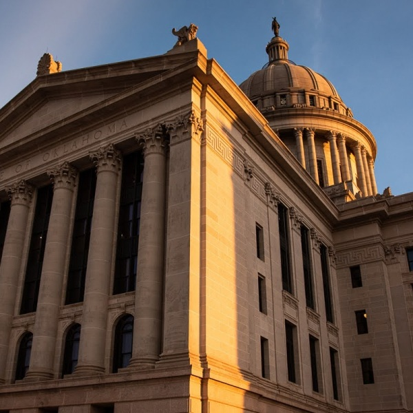 image of the oklahoma capitol