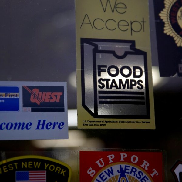 image of food stamps sign