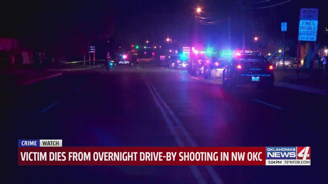 Drive by shooting near NW 36th and Ann Arbor