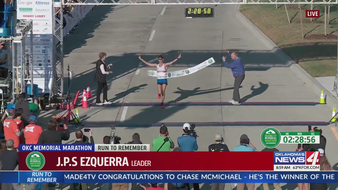 J, P. S. Ezquerra wins Oklahoma City Men's Memorial Marathon 2021