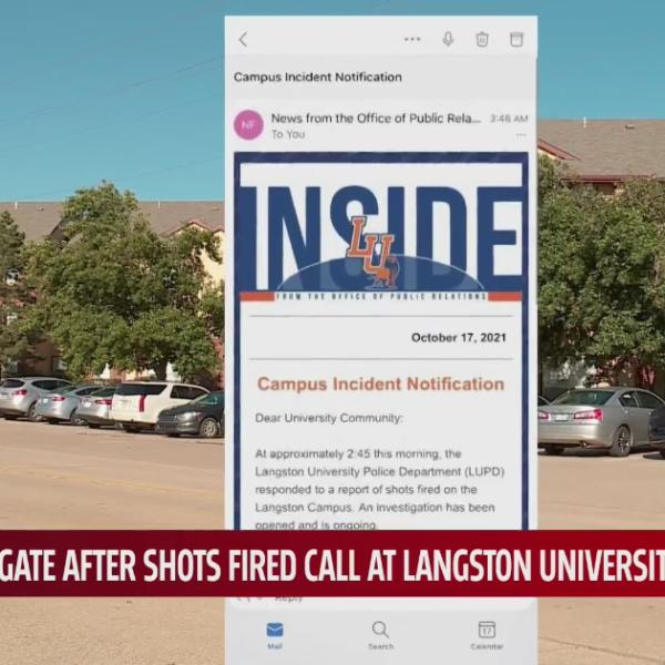 Langston University campus alert