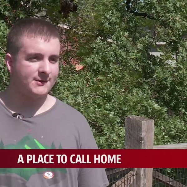 Zach being interviewed for A Place To Call Home