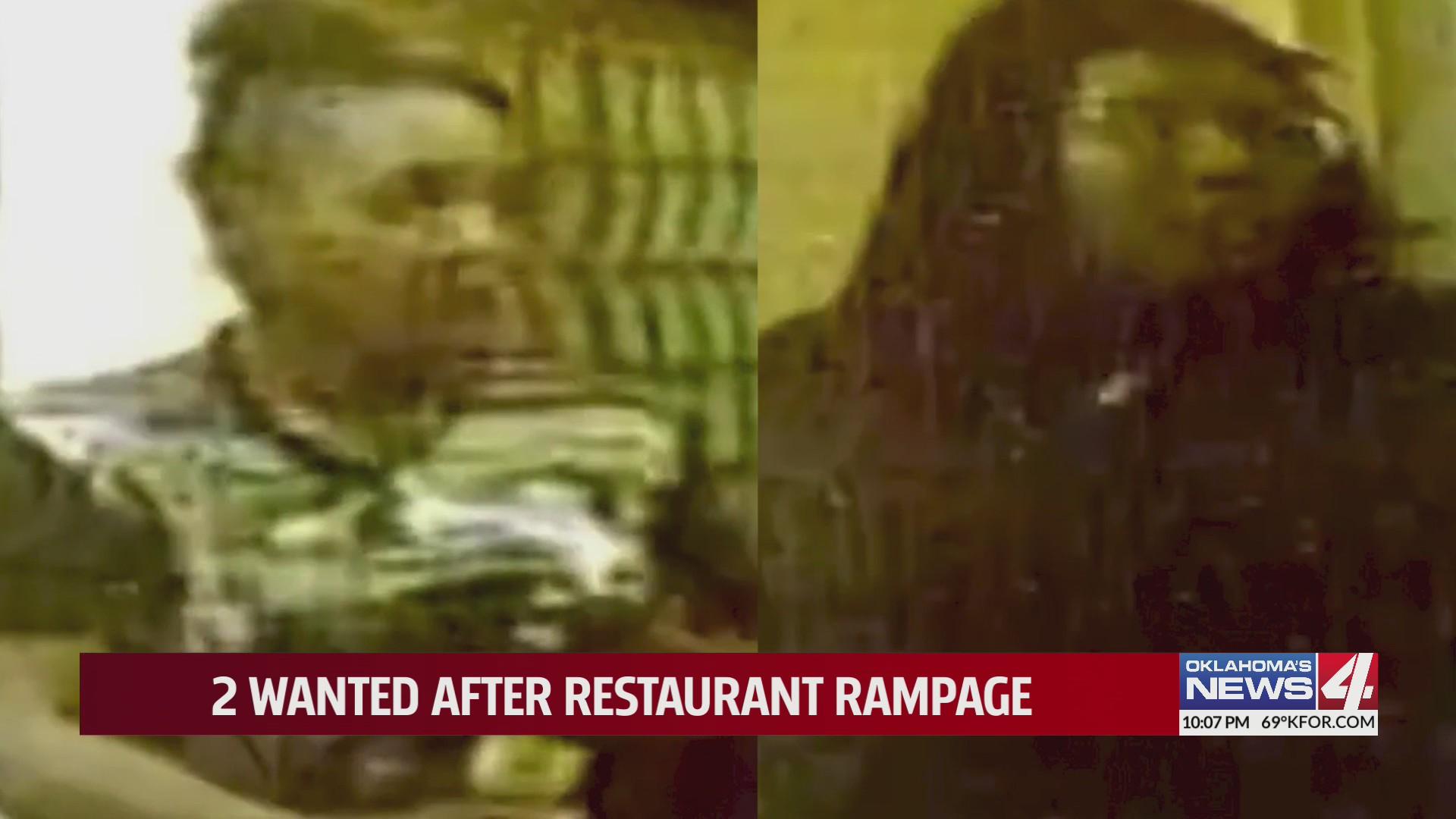 Shogun restaurant suspects