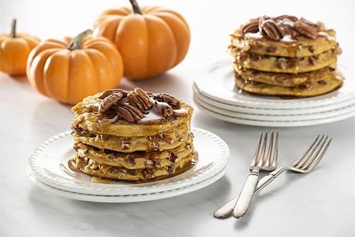 Made in Oklahoma pumpkin pecan pancakes